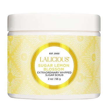Sugar Lemon Blossom Sugar Scrub - 2 oz. | LaLicious | b-glowing