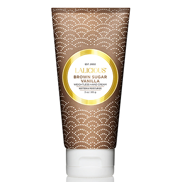 Brown Sugar Vanilla Hand Cream | LaLicious | b-glowing