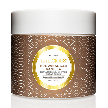 Brown Sugar Vanilla Scrub - 16 oz. | LaLicious | b-glowing