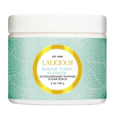 Sugar Tiare Flower Scrub - 2 oz. | LaLicious | b-glowing