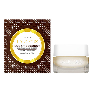 Sugar Coconut Lip Butter | LaLicious | b-glowing