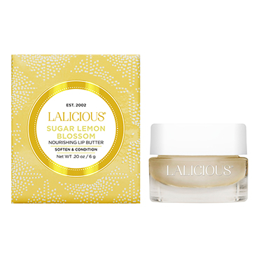 Sugar Lemon Blossom Lip Butter | LaLicious | b-glowing