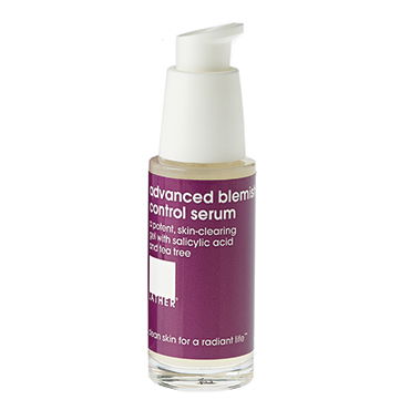 advanced blemish control serum | LATHER | b-glowing