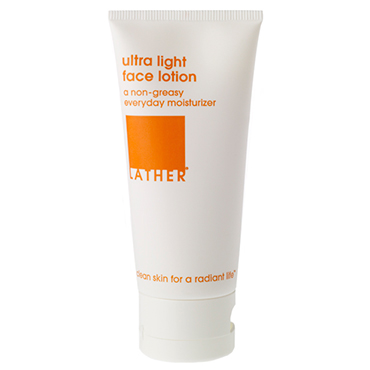 ultra light face lotion | LATHER | b-glowing