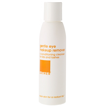 LATHER gentle eye make-up remover