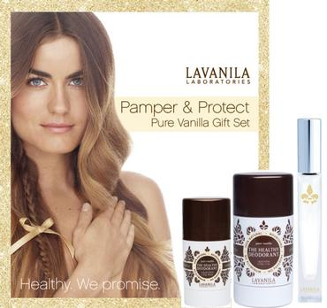 Pamper & Protect Gift Set Pure Vanilla