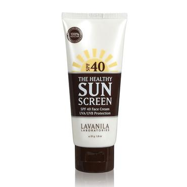 The Healthy SunScreen Face Cream SPF 40 | LaVanila | b-glowing