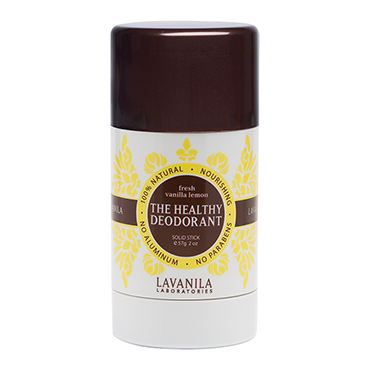 The Healthy Deodorant Fresh Vanilla Lemon | LaVanila | b-glowing