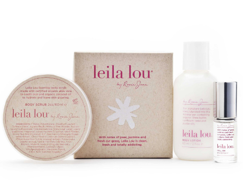 Leila Lou Limited Edition Holiday 2012 Gift Set