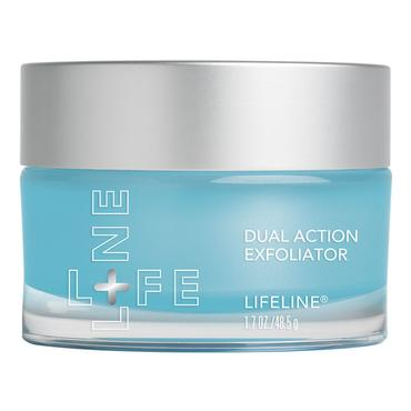 Dual Action Exfoliator | Lifeline Stem Cell Skin Care | b-glowing