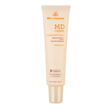 MD Crème Mineral Beauty Balm (Medium/Dark) Broad Spectrum SPF 50 | MD SolarSciences | b-glowing