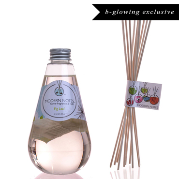 Fig Leaf Diffuser & Reed Set | MODERN NOTES | b-glowing