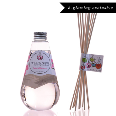 Sakura Blossom Diffuser & Reed Set | MODERN NOTES | b-glowing