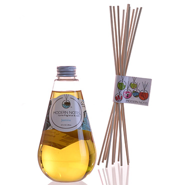 Jasmine Diffuser & Reed Set | MODERN NOTES | b-glowing
