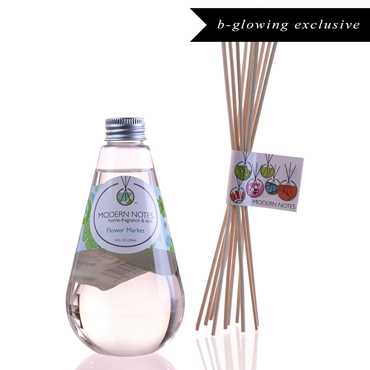 Flower Market Diffuser & Reed Set | MODERN NOTES | b-glowing