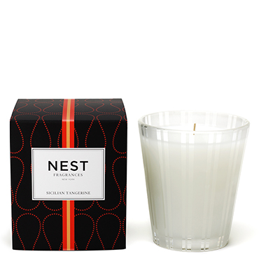 Sicilian Tangerine Classic Candle | NEST Fragrances | b-glowing