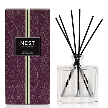 Wasabi Pear Reed Diffuser | NEST Fragrances | b-glowing