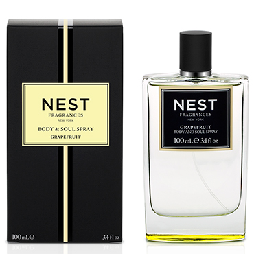 Grapefruit Body & Soul Spray | NEST Fragrances | b-glowing
