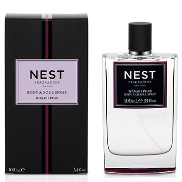 Wasabi Pear Body & Soul Spray | NEST Fragrances | b-glowing