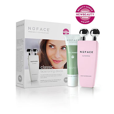 Classic Facial Toning Device - Pink | NuFACE | b-glowing
