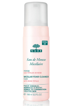 Micellar Foam Cleanser with Rose Petals | Nuxe | b-glowing