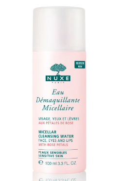 Micellar Cleansing Water with Rose Petals - travel size | Nuxe | b-glowing