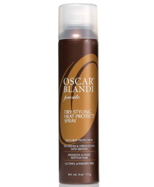 Pronto Dry Heat Protect Spray | Oscar Blandi | b-glowing