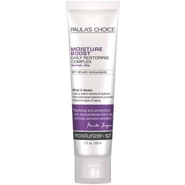 Moisture Boost Daily Restoring Complex SPF 30 | Paula's Choice | b-glowing