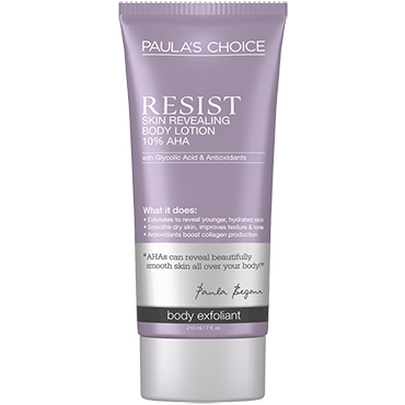 RESIST Skin Revealing Body Lotion with 10% AHA | Paula's Choice | b-glowing