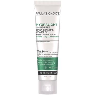 Hydralight Shine-Free Mineral Complex SPF 30 | Paula's Choice | b-glowing