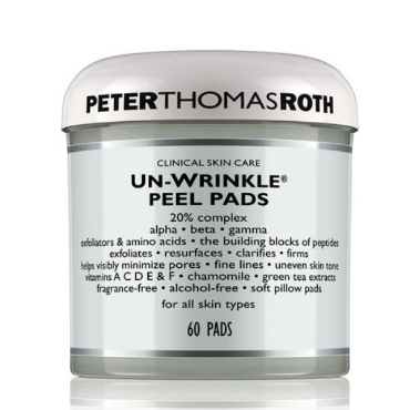 Un-Wrinkle® Peel Pads (60 Pads) | Peter Thomas Roth | b-glowing