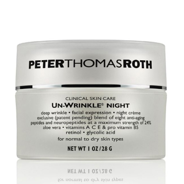 Un-Wrinkle® Night | Peter Thomas Roth | b-glowing