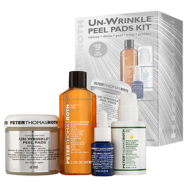Un-Wrinkle Peel Pads Kit - Limited Edition | Peter Thomas Roth | b-glowing