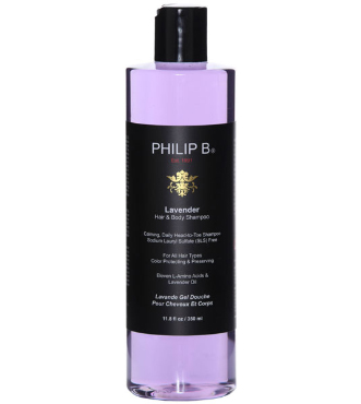 Lavender Hair & Body Shampoo 11.8 oz | Philip B. | b-glowing