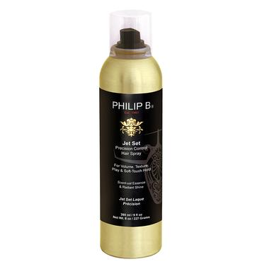 Jet Set Precision Control Hair Spray - 8 oz. | Philip B. | b-glowing