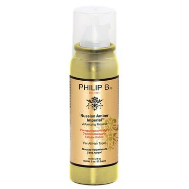 Russian Amber Imperial Volumizing Mousse - 1.5 oz. | Philip B. | b-glowing