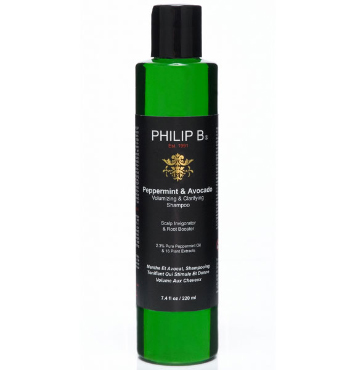 Peppermint and Avocado Volumizing & Clarifying Shampoo