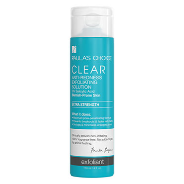 CLEAR Extra Strength Anti-Redness Exfoliating Solution