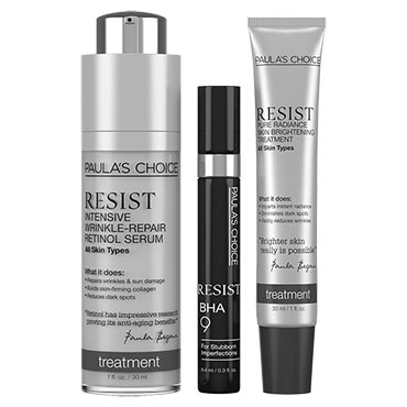 RESIST Ultimate Anti-Aging Trio | Paula's Choice | b-glowing