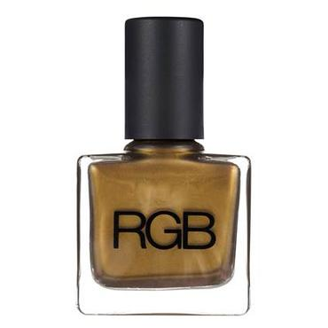 Reece Hudson for RGB Green Gold Nail Color | RGB Cosmetics | b-glowing