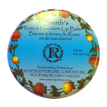 Rose and Mandarin Lip Balm