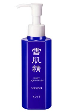 White Liquid Wash | Kose Sekkisei | b-glowing