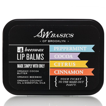 S.W. Basics Organic Lip Balm Flight | S.W. Basics | b-glowing