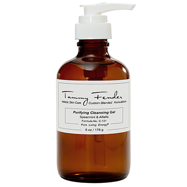 Purifying Cleansing Gel - Spearmint & Alfalfa | Tammy Fender | b-glowing
