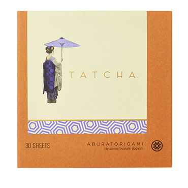 Gold Flake Blotting Papers | TATCHA Aburatorigami | b-glowing