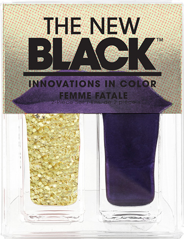 Femme Fatale - 2-Piece Nail Polish Set | The New Black | b-glowing