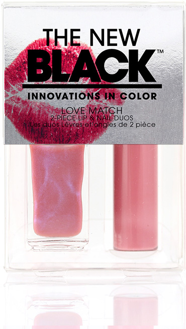 Jaybird - Love Match Lip & Nail Duo | The New Black | b-glowing