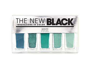 Waves - Bank Holiday Weekend Ombre Nail Shades 5-Piece Set | The New Black | b-glowing