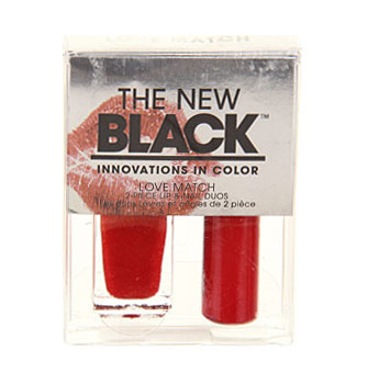 Red Headed - Love Match Lip & Nail Duo | The New Black | b-glowing