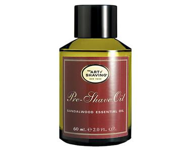 Pre-Shave Oil - Sandalwood | The Art of Shaving | b-glowing